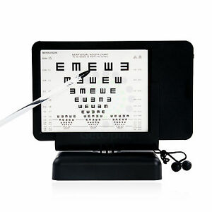 Near Led Optical Visual Chart Lamphouse Optometry Tester 40cm b Vision Chart