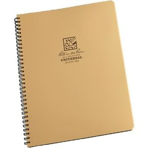 Rite In The Rain 973t mx All weather Universal Spiral Notebook Tan 8 5 X 11