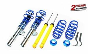 2 X Way Adjustable Coilover Kit For Vw Jetta Typ 1k 2005 2010