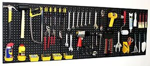 Wallpeg 72 Wide Pegboard Kit Peg Hooks Bins Garage Storage Tools Eb24243b