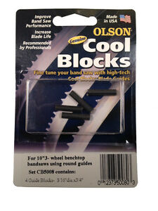 Olson Genuine Cool Blocks Cb50080 Fit 10 3 Wheel Benchtop Band Saws Made In Usa
