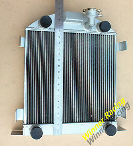 Aluminum Alloy Radiator Ford Lowboy Chopped W Flathead V8 Engine 1932 1939 1938