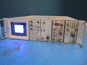 Tektronix 7903 Oscilloscope W 7a16a 7a13 7b80 Powers On