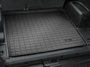 Weathertech Cargo Liner For Toyota 4runner W No 3rd Row Seats 2010 2019 Black