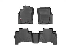 Weathertech Suv Floor Mats Floorliner For 2013 2019 4runner Lexus Gx In Black