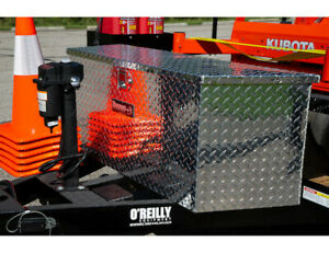 Buyers Products 1701385 Aluminum Trailer Tongue Toolbox 18 5 H X 15 D X 49 w