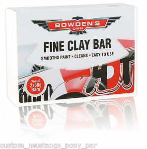 Bowden S Own Fine Clay Bar Cleaner Mothers Meguiars Turtle Wax Hsv Fpv Detail