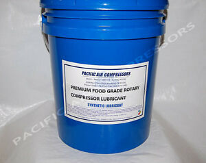 Fg200 05 Kaeser 4000 Hr 5 Gal Synthetic Food Grade Rotary Lubricant