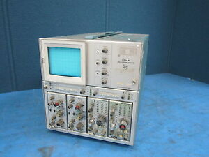 Tektronix 7704a Oscilliscope System With 4 Modules