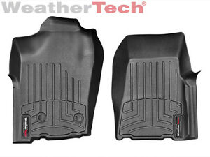 Weathertech Floor Mats Floorliner For Ford Ranger 2011 1st Row Black