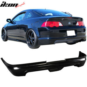 Fits Acura Rsx 02 04 2 door Mugen Style Pu Rear Bumper Lip Spoiler Urethane