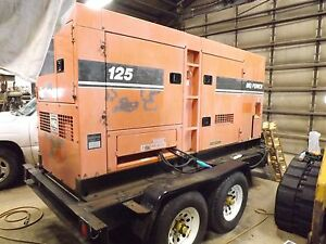 100kw Mq Diesel Generator 12844 5 Hours buyer Arranges Carrier