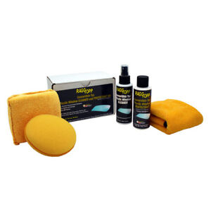 Raggtopp Convertible Top Plastic Window Kit Cleaner Protectant Applicator Pad