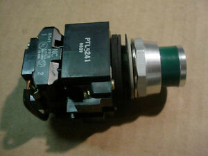 New Honeywell Ptl5241 Lighted Push Button Micro Switch Green Fast Free Ship