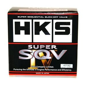 Hks Sqv4 Blow Off Valve Kit For 08 16 Subaru Impreza Sti p n 71008 af013