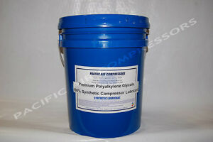 60gc 05 Syn flo Polyalkylene Glycol Synthetic Compressor Fluid 5 Gal