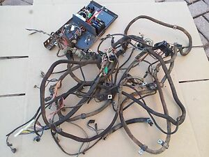 New Holland Oem Skid Steer Complete Wiring Harness With Main Panel