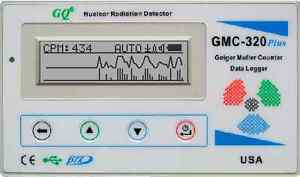 Gq Gmc 320 v4 Geiger Counter Nuclear Radiation Detector Meter Beta Gamma X Ray