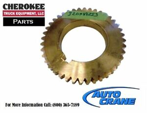 Auto Crane 320988253 Gear Worm 6 667pd 4 00 Id 75 Key