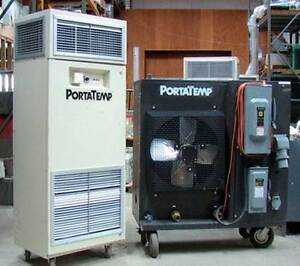 Airedale Pah 900 Portatemp 7 5 ton Air cooled Chilled Water System Air Handler