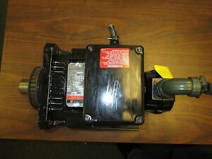 Reliance Ac Synchronous Motor For Hr 2000 Control B90h1010m pt Used