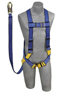 Protecta Ab17532 Harness Kit With Attached 6 Shock Absorbing Lanyard