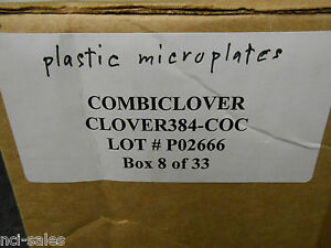 Combiclover Clover 384 coc 96 Well 4 Chamber Microplates