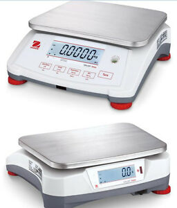 Ohaus V71p15t Portable Checkweigher Bench Scale 30x0 001lb 15kgx0 5g ntep