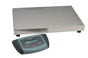 Ohaus Es200l Bench Weighing Scale 200x0 1 Kg units Kg lb oz pan 21 x16 new