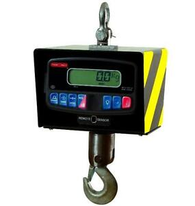 Crane Scale Torrey Crs 500 1000h Heavy Duty Hanging remote class Iii 1000x0 5lb