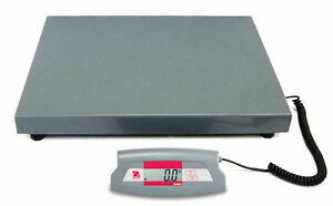 Ohaus Sd200l Bench Shipping Scale 440 X 0 2 Lb Plate Size 20 5 x15 7 New