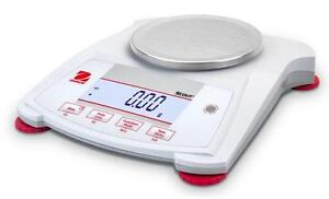 Ohaus Spx622 Lab Balance compact Gold Portable Scale 620gx0 01g Ac Adapter new