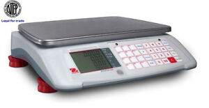 Ohaus Retail Price Computing Scale 30x0 01 Lb ntep legal For Trade new Item