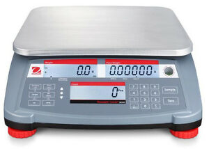 Ohaus  RC31P3 Counting Bench Scale 3 kgX0.1gNTEP (1g)Legal For TradeRS232New