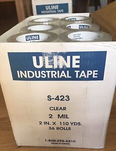 Uline S 423 Industrial Tape 2 X 110yds New Roll 2 0 Mil