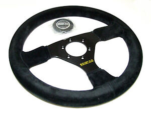 Sparco Steering Wheel R323 330mm 39mm Dish suede