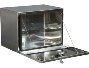 Buyers Products 1702653 Polished Stainless Steel Toolbox 18 H X 18 D X 30 W