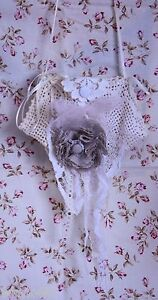 Shabby French Chic Vintage Lace Bag Purse Decor 3