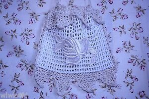 Shabby French Chic Vintage Lace Bag Purse Decor 2