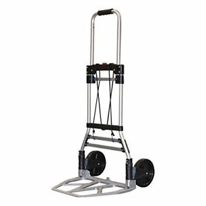 Hand Cart Milwaukee Trucks 33882 Aluminum Fold Up Truck W 7 inch Tires Small Po