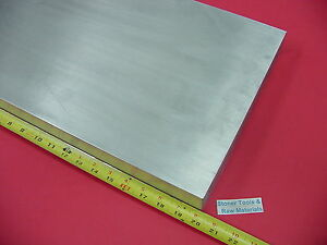 3 4 x 10 x 20 Aluminum 6061 Solid Bar T6511 New 750 Plate Mill Stock