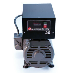 American Rotary Phase Converter Ar20f Floor Unit 20 Hp Made Is Usa