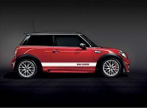 Mini Cooper Side Stripes Graphic Decals Fits All Yrs Models