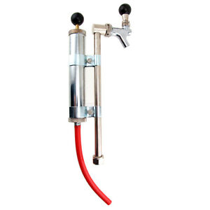 Rod And Faucet Beer Keg Pump No Coupler Draft College Party Keg Bar Pub Tap