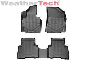 Weathertech Floor Mats Floorliner For Kia Sorento 2014 2015 Black