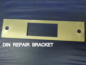 Car Radio Dash Repair Plate For Din Size Cut To The Dash Great For Classic Cars