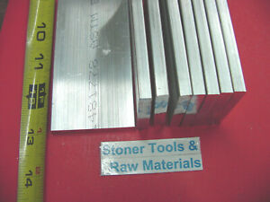 8 Pieces 1 4 X 2 Aluminum 6061 Flat Bar 13 Long T6 25 Plate New Mill Stock