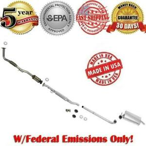 Full Exhaust System Catalytic Converter Toyota Camry 2 2l With Federal Emissions