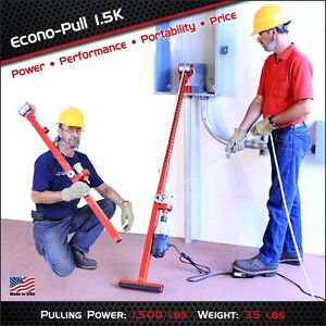 Porta pull Econopull 1500 Cable Tugger Wire Puller