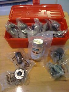 12 set Scotchman Ironworkers Tooling Kit W 3 Oblong Sets Smaller Machines